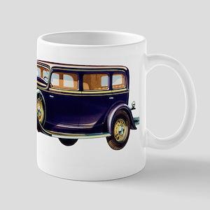 1931 Reo Automobile Illustration Mugs