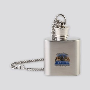 I Have A Dream No BSL Flask Necklace
