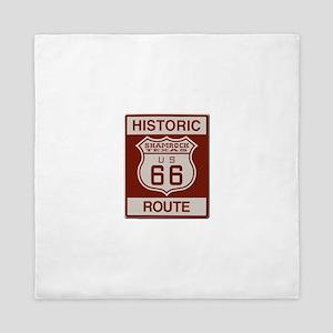 Shamrock Texas Route 66 Queen Duvet