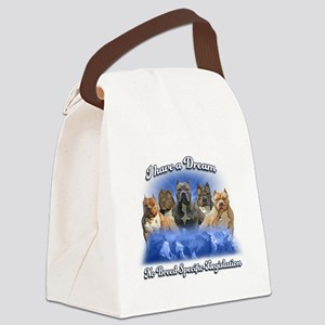I Have A Dream No BSL Canvas Lunch Bag