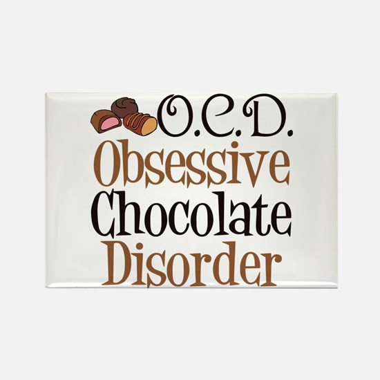 Cute Chocolate Rectangle Magnet (100 pack)