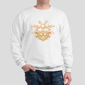Transgender Tribal Heart Sweatshirt
