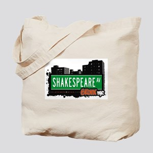 Shakespeare Av, Bronx, NYC Tote Bag