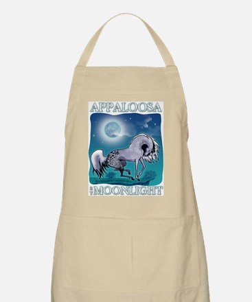 Appaloosa Horse by Moonlight BBQ Apron