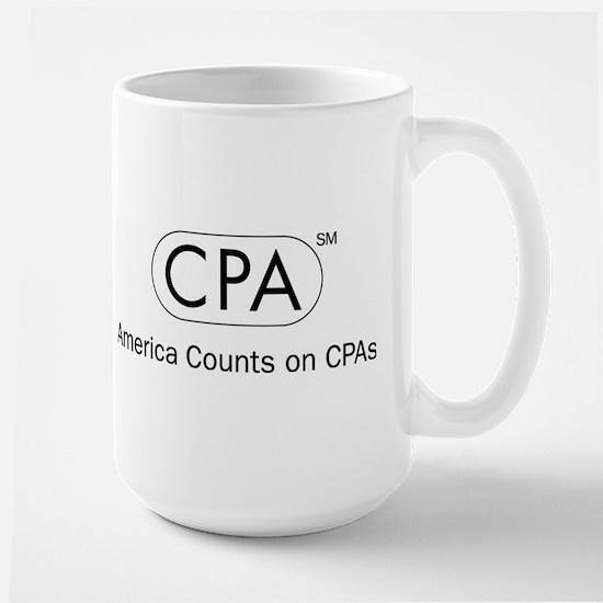CPA White America Mugs