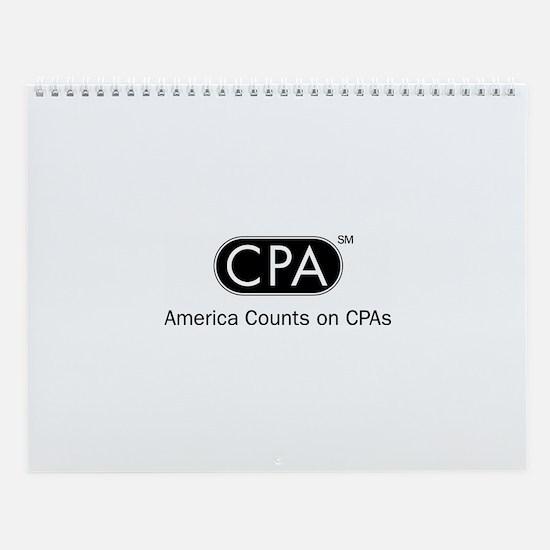 2008 CPA Wall Calendar