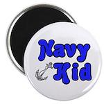 Navy Kid (blue) Magnet
