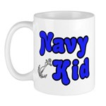 Navy Kid (blue) Mug