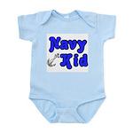 Navy Kid (blue) Infant Bodysuit