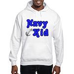 Navy Kid (blue) Hooded Sweatshirt