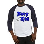 Navy Kid (blue) Baseball Jersey