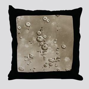 Vintage Airborne Drop Throw Pillow