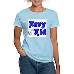 Navy Kid (blue) Women's Light T-Shirt