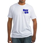 Navy Kid (blue) Fitted T-Shirt