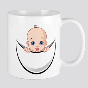 funny maternity Mugs