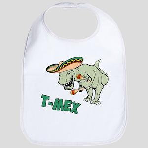 T-Mex T-Rex Mexican Tyrannosaurus Dinosaur Bib