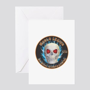 Legion of Evil Carpenters Greeting Card