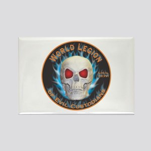 Legion of Evil Custodians Rectangle Magnet