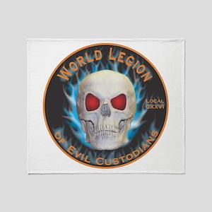 Legion of Evil Custodians Throw Blanket