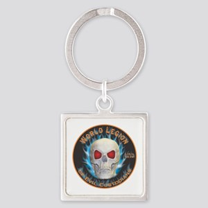 Legion of Evil Custodians Square Keychain