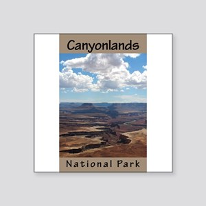 Canyonlands NP (Vertical) Rectangle Sticker