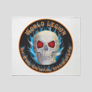 Legion of Evil Dental Hygienists Throw Blanket