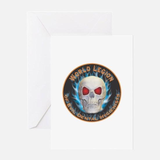 Legion of Evil Dental Hygienists Greeting Card