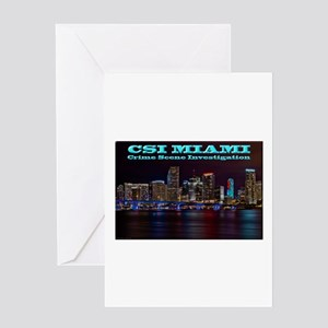 CSI Miami After Dark Greeting Cards