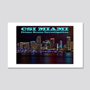 CSI Miami After Dark Wall Decal