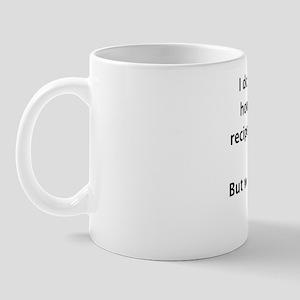 Recipes on Pinterest Mug