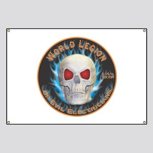 Legion of Evil Electricians Banner