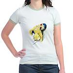 Kitten at Play Jr. Ringer T-Shirt
