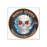 Legion of Evil Engineers Square Sticker 3