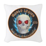 Legion of Evil Engineers Woven Throw Pillow