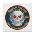 Legion of Evil Engineers Tile Coaster
