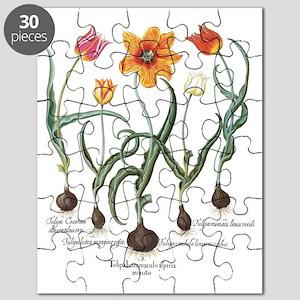 Vintage Tulips by Basilius Besler Puzzle