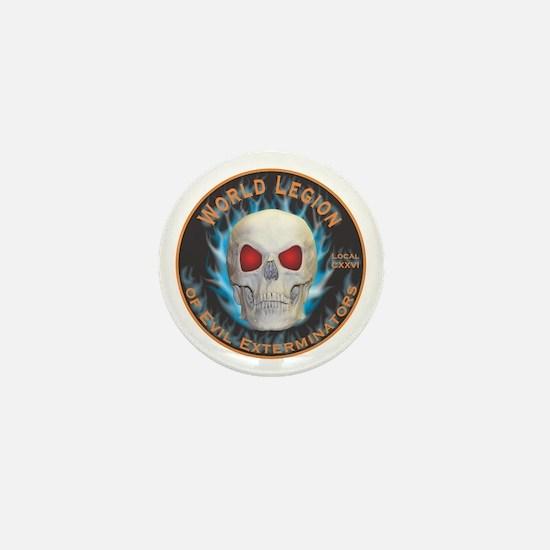 Legion of Evil Exterminators Mini Button