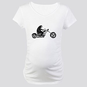 Slow Sloth On A Fast Bike Maternity T-Shirt