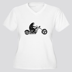Slow Sloth On A Fast Bike Plus Size T-Shirt