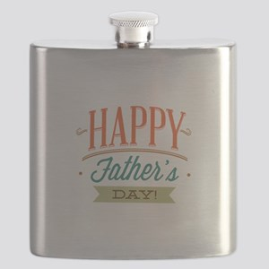 Happy Father's Day Flask
