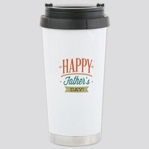 Happy Father's Day Stainless Steel Travel Mug
