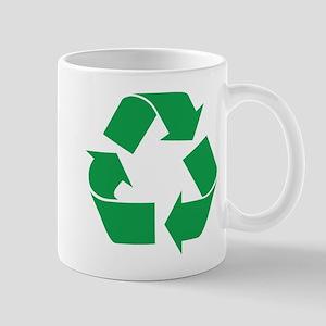 Green Recycle Mug
