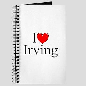 """""""I Love Irving"""" Journal"""