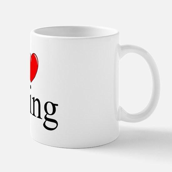 """I Love Irving"" Mug"