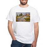 Sierra Shadows White T-Shirt