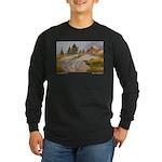 Sierra Shadows Long Sleeve Dark T-Shirt