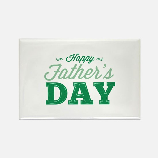 Happy Father's Day Rectangle Magnet