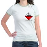 Spontaneously Combustible Women's Ringer T-Shirt