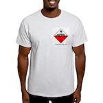 Spontaneously Combustible Ash Grey T-Shirt