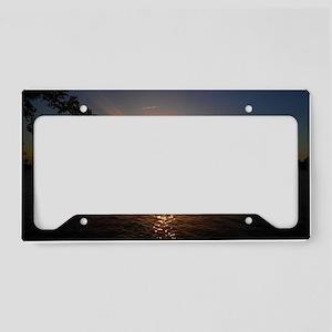 Charles River Sunset License Plate Holder